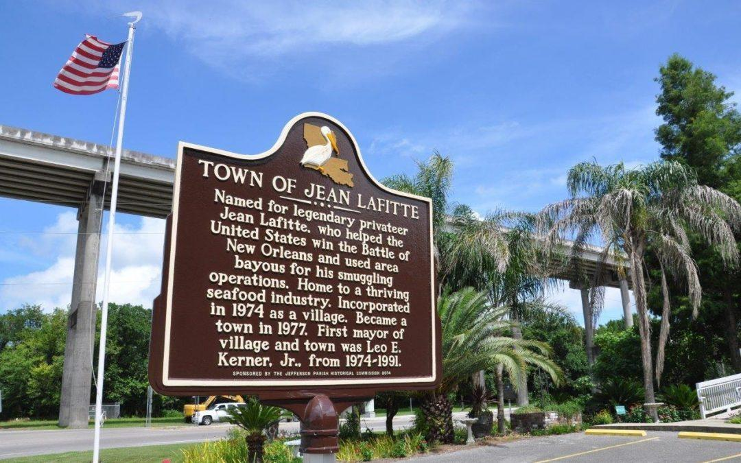 WWL TV: Town of Jean Lafitte honored with historical marker