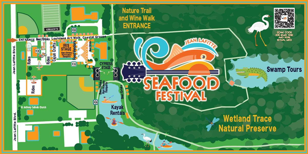 Seafood Festival map